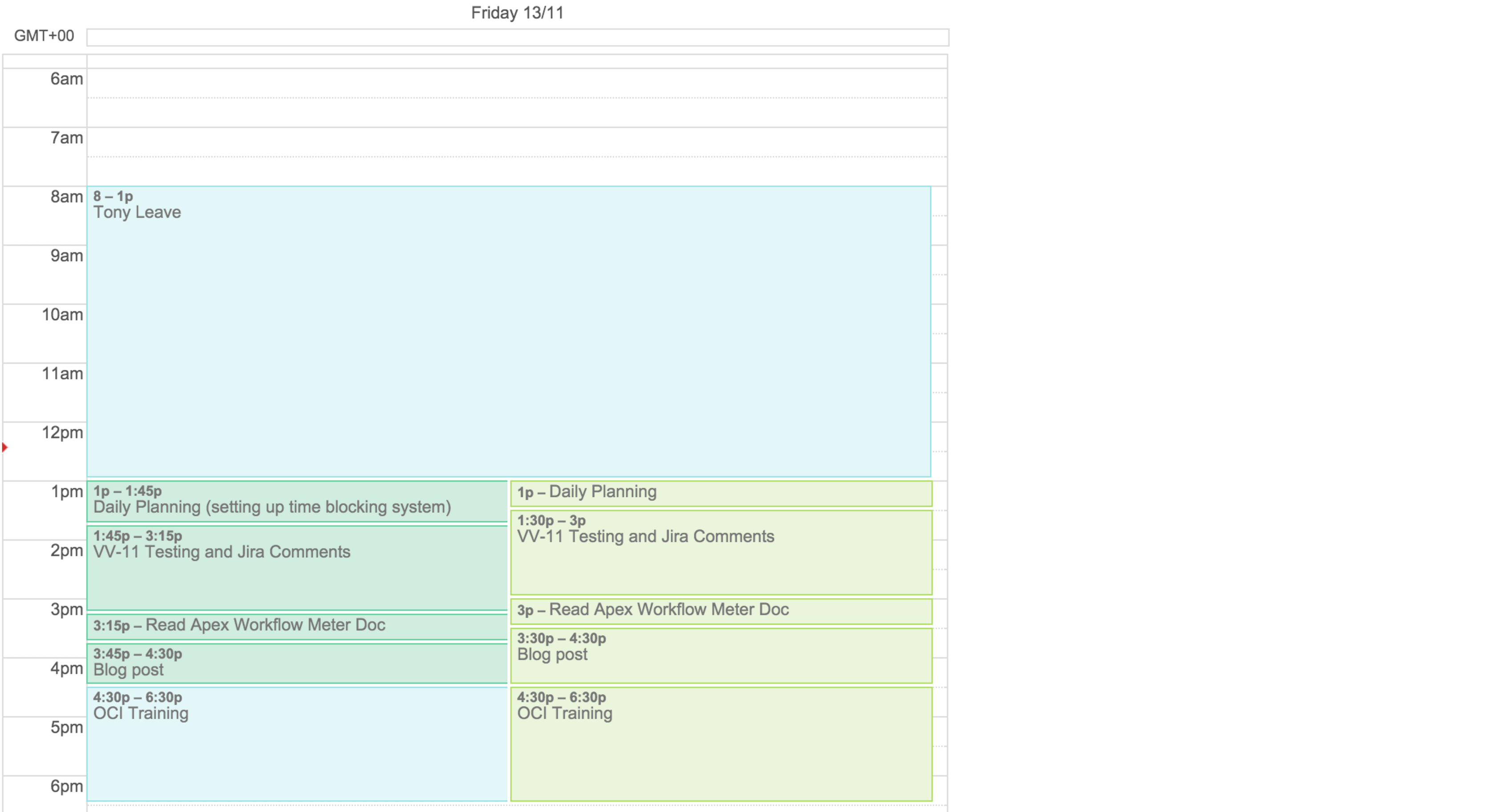 Making Time Blocking Work With Google Calendar